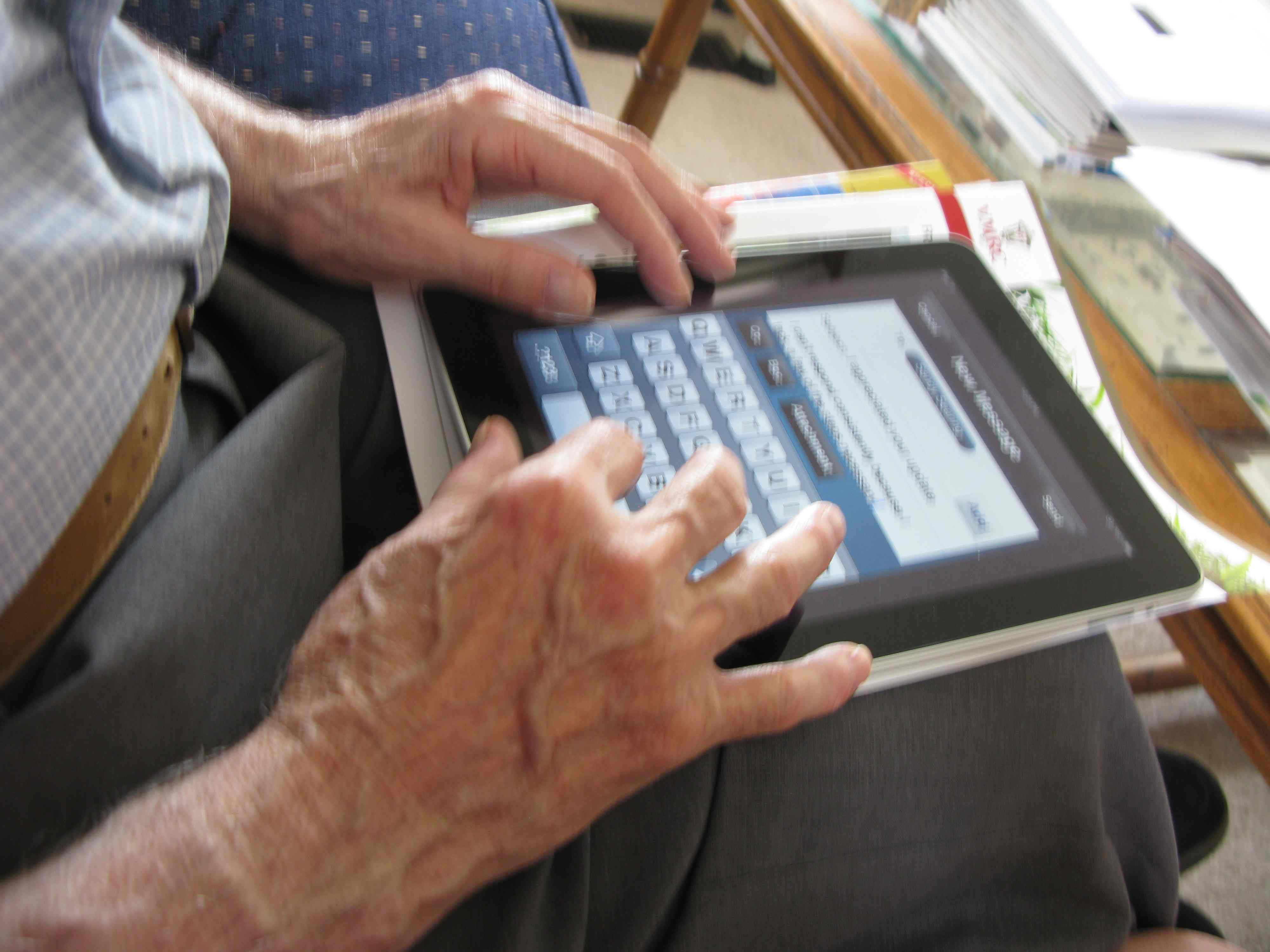 Ipad For Dad As Our Parents Age