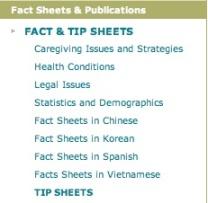 tip sheets