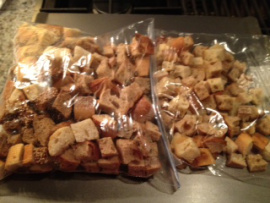 stuffing-croutons