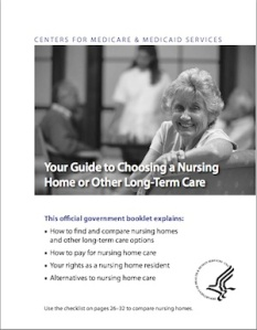 Medicare publishes this document to assist people in checking the details and quality of care at any long term care community.