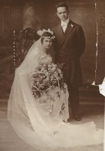 Grandpa and Grandma were married at the church in 1918.