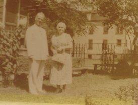 Grandma and Grandpa in the early 1950s.