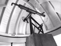 The old observatory at the school — now a National Landmark.