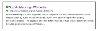 Social distancing 2